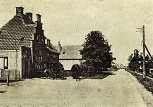 Het hulppostkantoor in 1915