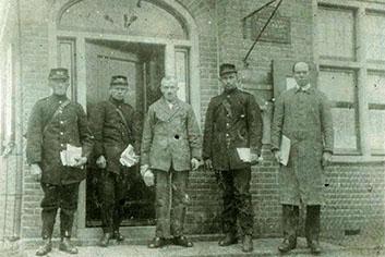 Opening Postkantoor Achterveld 1915